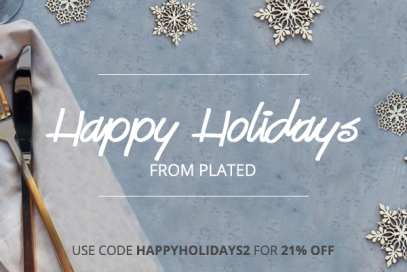 Happy Holidays promotional asset for social media